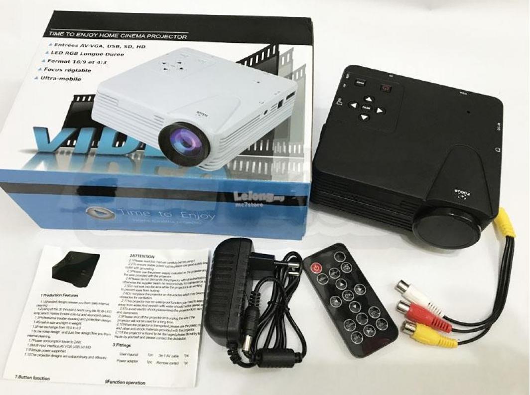 Мультимедийный Led проектор H80