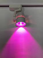 Светодиодный трековый фитосветильник SL-4003F 10W (full spectrum led) белый Код.59093