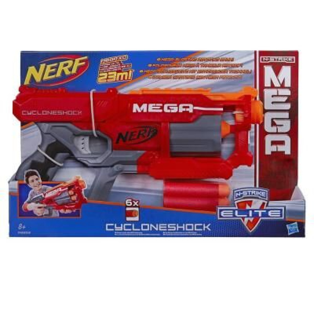 Игрушечное оружие Hasbro Nerf МЕГА Циклон (бластер) (A9353), фото 1