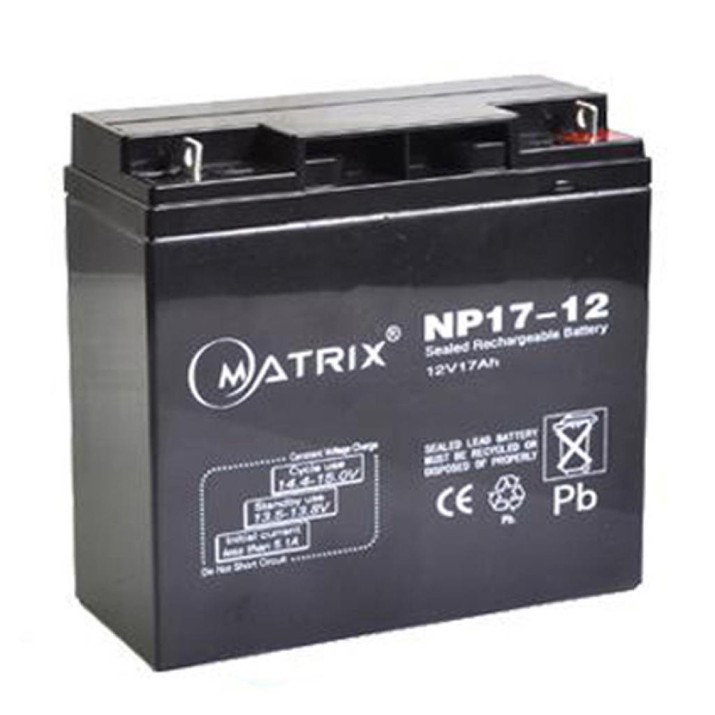 Батарея к ИБП Matrix 12V 17AH (NP17-12)