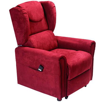 Подъемное кресло с двумя моторами, BERGERE (красное), фото 2