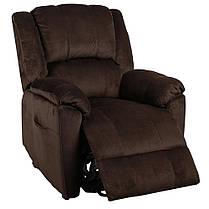 Подъемное кресло с двумя моторами HANNA (коричневое), фото 3