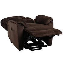 Подъемное кресло с двумя моторами HANNA (коричневое), фото 2