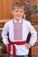 """Красивая вышиванка для мальчика на длинный рукав """"Князь-2"""""""