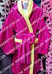 Дитячий махровий халат з вушками Зайка для дітей від 7 до 9 років, фото 4