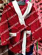 Дитячий махровий халат з вушками Зайка для дітей від 7 до 9 років, фото 5