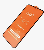 Защитное стекло для Huawei Honor 8S (0,1 mm 21D Full Glue), цвет черный