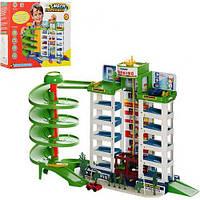 Детский паркинг игровой набор 6 этажей, 4 машинки  922