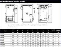 Котел на твердом топливе Dakon DOR F 20, фото 5