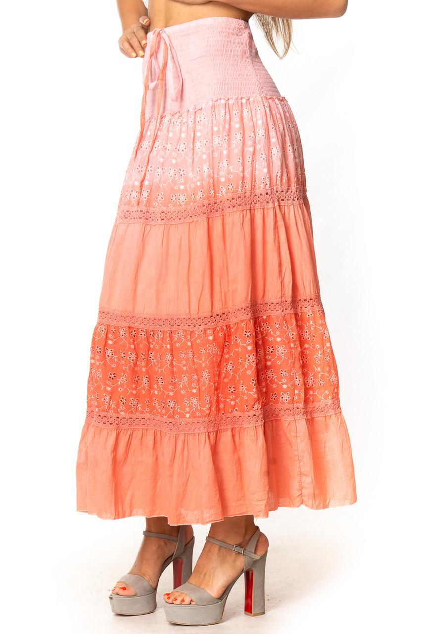 Летняя легкая юбка/платье 42-48 (в расцветках)