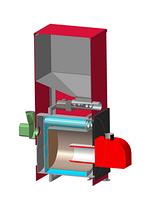 Пеллетный котел с автоподачей SWaG-pellets 15 кВт, фото 2