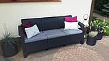 Allibert Corfu Love Seat Max садові меблі з штучного ротанга, фото 4