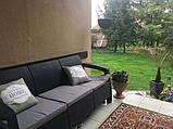 Allibert Corfu Love Seat Max садові меблі з штучного ротанга, фото 7