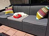 Allibert Corfu Love Seat Max садові меблі з штучного ротанга, фото 10