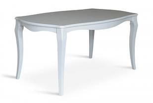 Обеденный раскладной стол Маркиз 160х92(+44)см (белый)