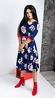 Милое,нарядное ,интересное платье миди.Разные цвета.