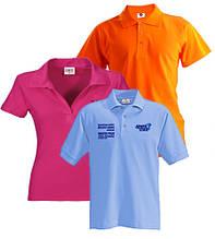 Рубашки поло для нанесения логотипа