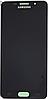 Дисплей (екран) для Samsung A710F Galaxy A7 (2016) + тачскрін, чорний, TFT, копія, без регулювання яскравості