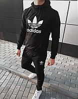 Мужской стильный спортивный костюм с капюшоном!