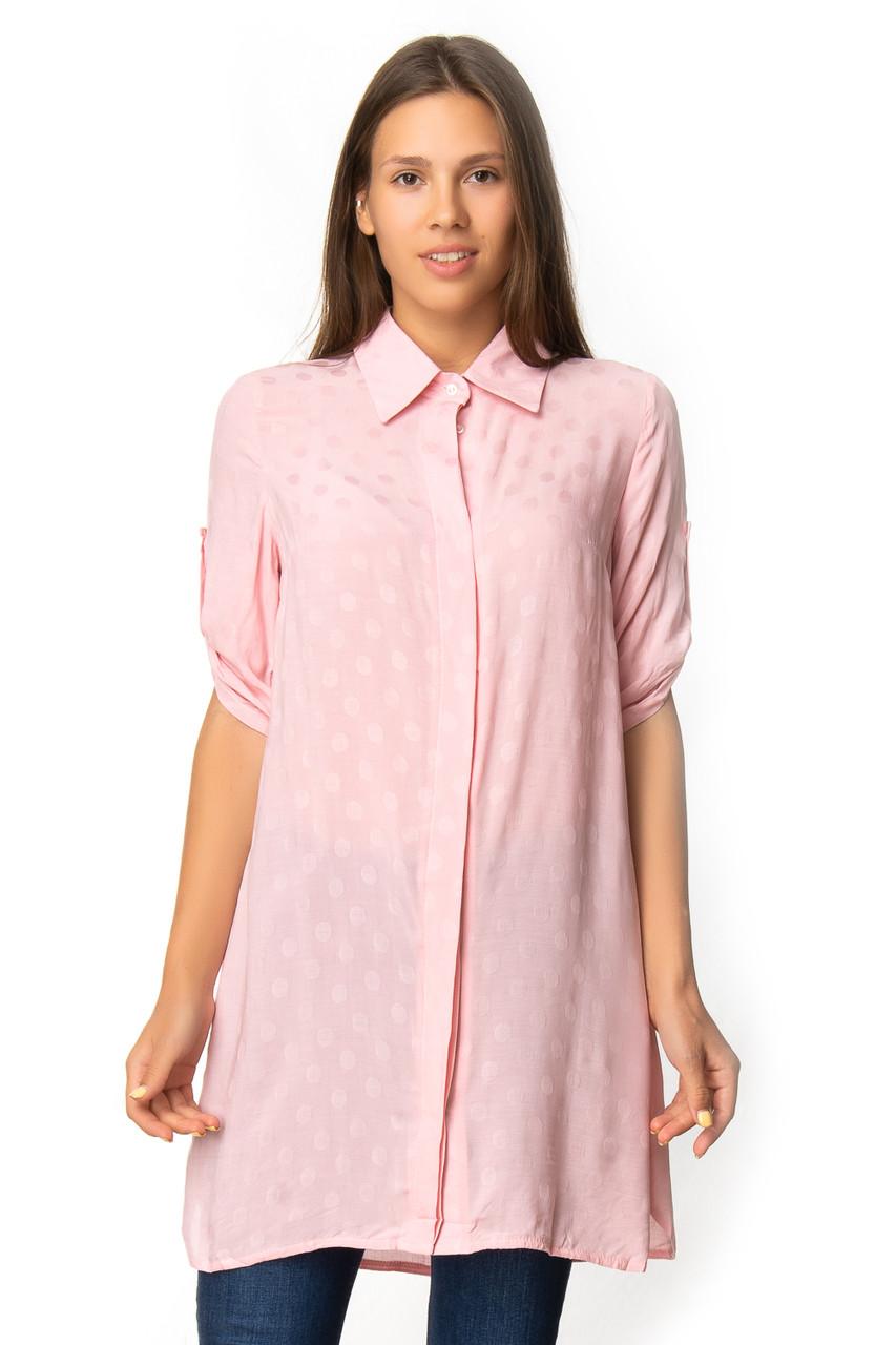 Яркая летняя рубашка-туника (в расцветках 40-44)
