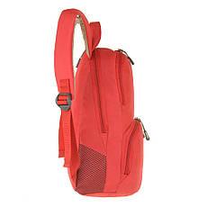 Рюкзак молодёжный Wallaby 33 х21х15 полиестр, красный в 153кр, фото 3