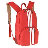 Рюкзак молодёжный Wallaby 33 х21х15 полиестр, красный в 153кр