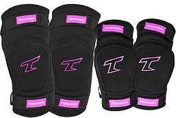 Комплект защиты Tempish Bing, розовый, размер S/M/L (AS)