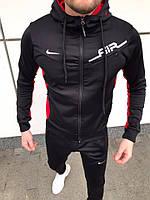 Спортивный мужской костюм Nike Air, черный