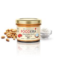 Арахисовая паста FOODERA с морской солью (кранч) хрустящая с кусочками арахиса