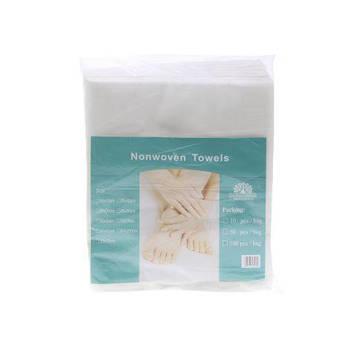 Одноразовые полотенца 25*30, 100 шт
