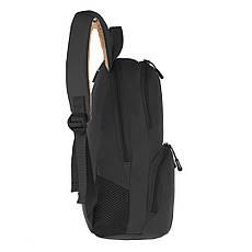 Рюкзак Wallaby молодёжный чёрный 33 х21х15 полиестр в 153ч, фото 3
