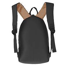 Рюкзак Wallaby молодёжный чёрный 33 х21х15 полиестр в 153ч, фото 2