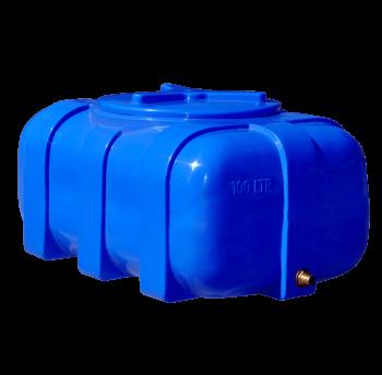 Емкость пластиковая 100 л овальная (двухслойная)