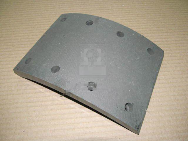 Накладка тормозная ЗИЛ 130 задняя сверленая. 130-3502105-21