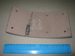 Накладка тормозная ГАЗ 3307, 3309, 53 задняя короткая сверленая (200х100) (Трибо). 3ТР-306