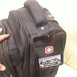 Рюкзак Wenger дорожная сумка на колесиках, фото 6