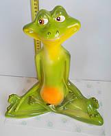 Садовая фигурка Лягушка медитирует
