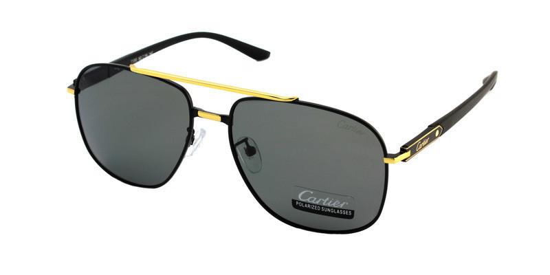 Сонцезахисні окуляри стильні чоловічі Cartier Polaroid бренд 2019