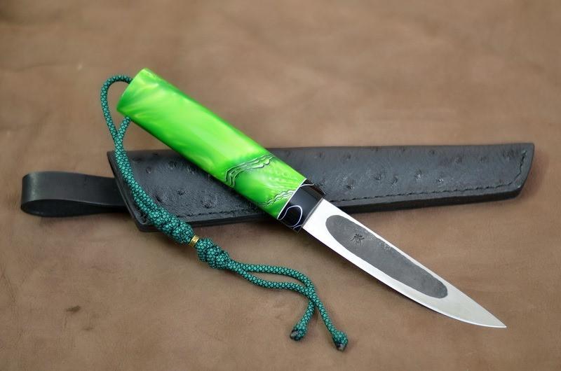 """Нож  якутский ручной работы """"Лесной"""""""