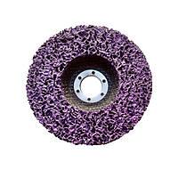 Зачистной круг Fantech 125 мм. фиолетовый (жесткий)