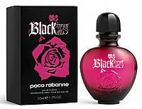Женская туалетная вода Paco Rabanne Black XS for Her 80 ml (Пако Раббан Блек Икс Ес Пур Феммэ)