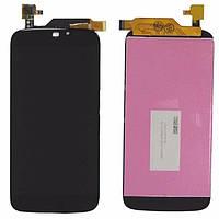 Дисплей для мобильного телефона Acer S55 Liquid Jade черный с тачскрином ORIG