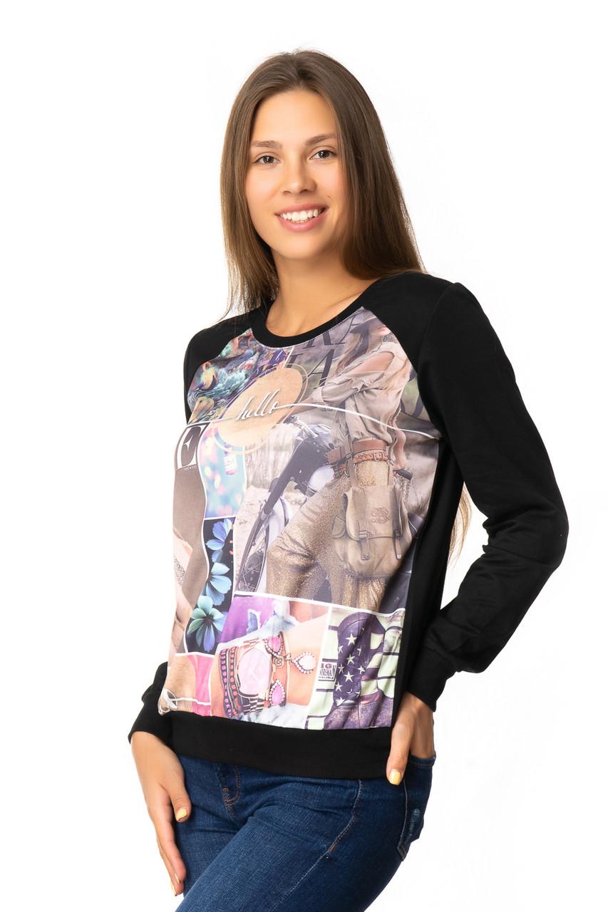 Модные женские свитшоты (в расцветках 44-46)