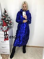 Куртка женская длинная зимняя 42-46 рр, фото 1