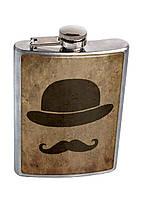 Фляга DM 01 Джентельмен коричневая - 177031