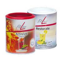 Витаминный комплекс FitLine. Activize Oxyplus+Комплекс минералов и микроэлементов. Restorate