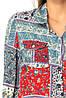 Красивая женская рубашка с карманами 40-44, фото 3
