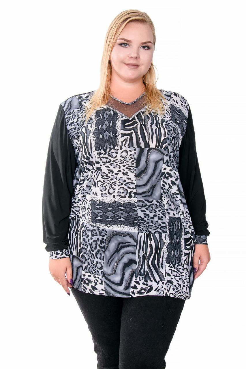 Женские блузы больших размеров (70-72)