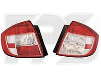 Фонарь задний для Suzuki SX4 седан '06- левый (DEPO)