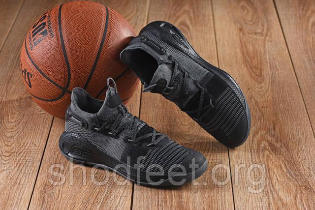 Мужские кроссовки Under Armour Curry 6 GS Black Grey